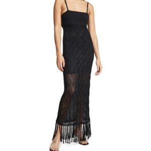 Ramy Brook Maddox Knit Lace Dress